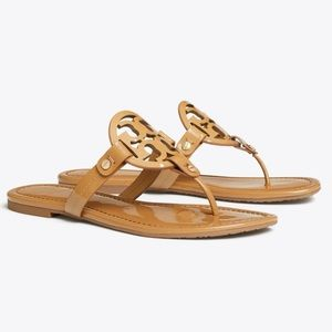New in box Tory Burch Miller Patent Sandal S9.5